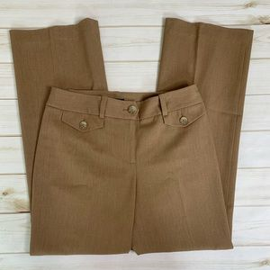 Tan trouser pant by Ann Taylor